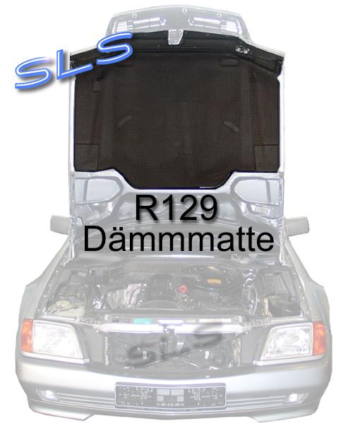 mercedes r129 w129 129 sl d mmatte d mmmatte motorhaube ebay. Black Bedroom Furniture Sets. Home Design Ideas